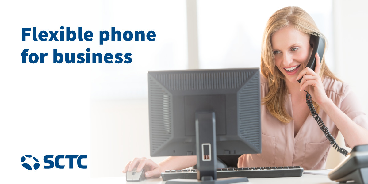 Flexible phone for business
